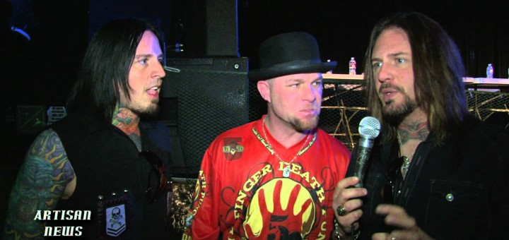 """FIVE FINGER DEATH PUNCH GETS 10TH NUMBER ONE WITH """"COMING DOWN"""""""