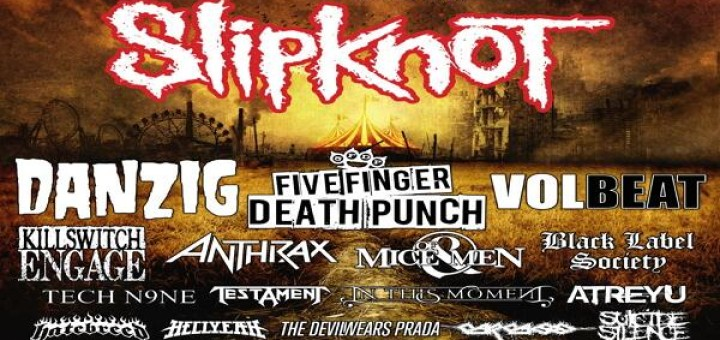 Knotfest 2014 poster